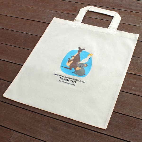 Australian Wildlife Reusable Shopping Bags (Blue)