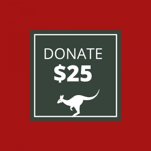 BUSHFIRE APPEAL: DONATE $25