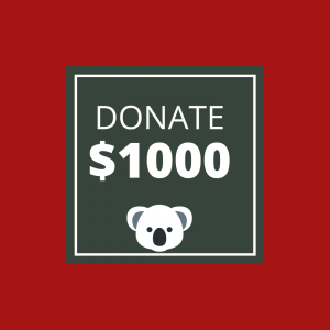 BUSHFIRE APPEAL: DONATE $1000