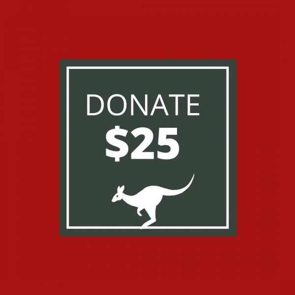 BUSHFIRE APPEAL: DONATE $25
