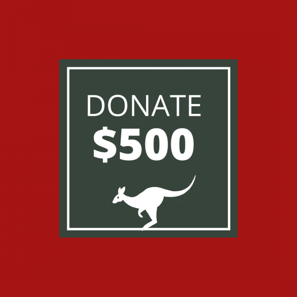 BUSHFIRE APPEAL: DONATE $500