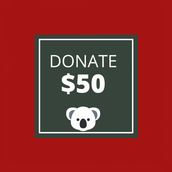 BUSHFIRE APPEAL: DONATE $50